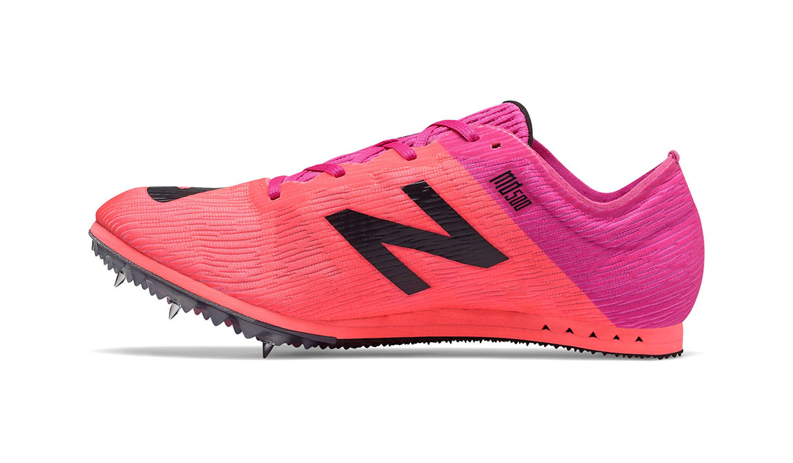 Women's New Balance MD500v7 Track Spikes - Color: Guava (Regular Width) - Size: 6.5, Guava, large, image 2