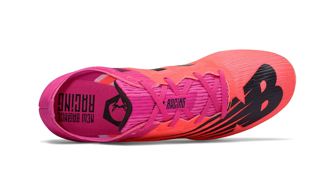 Women's New Balance MD500v7 Track Spikes - Color: Guava (Regular Width) - Size: 6.5, Guava, large, image 3