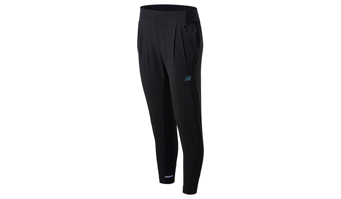 Women's New Balance Q Speed Run Crew Pants - Color: Black Size: XS, Black, large, image 1