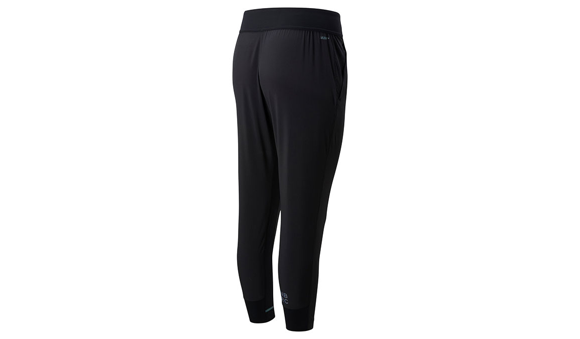 Women's New Balance Q Speed Run Crew Pants - Color: Black Size: XS, Black, large, image 2