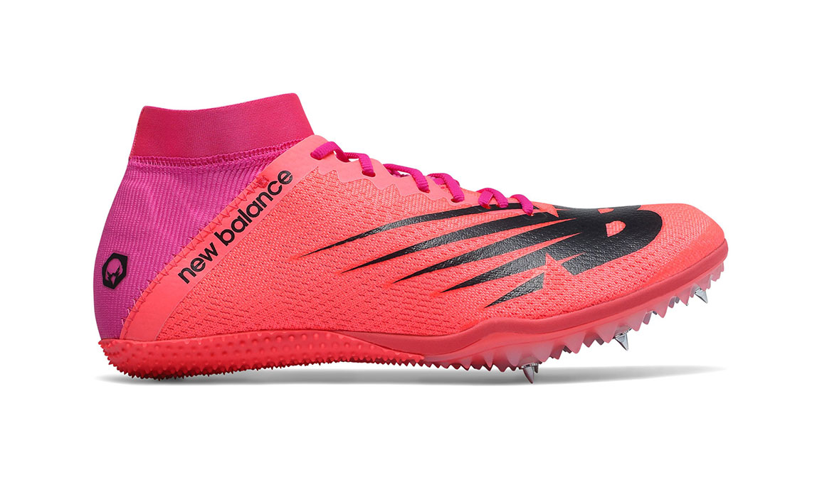 Women's New Balance SD100V3 Track Spikes - Color: Guava (Regular Width) - Size: 6, Guava, large, image 1