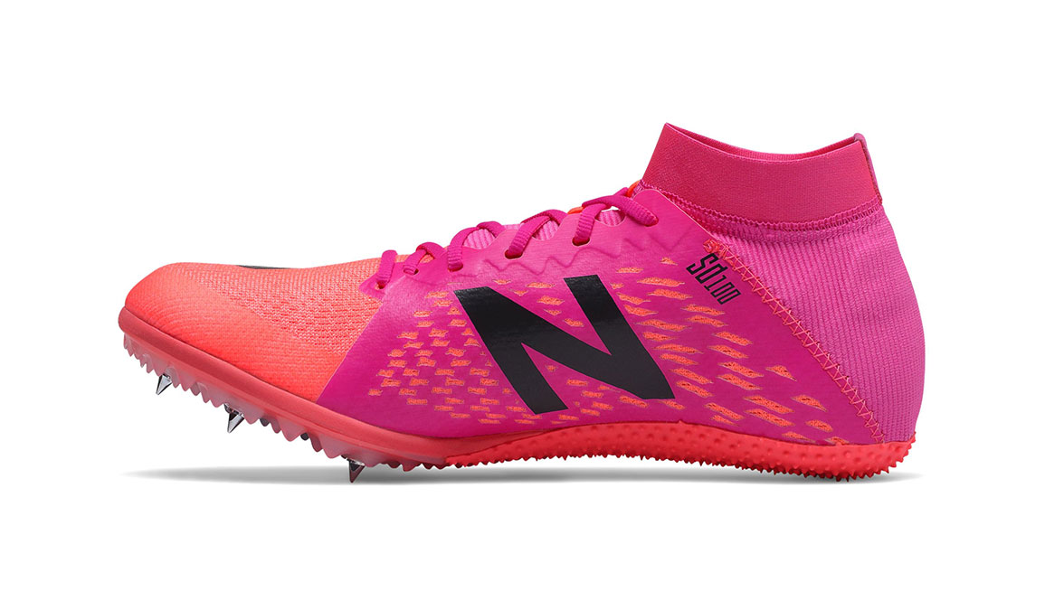 Women's New Balance SD100V3 Track Spikes - Color: Guava (Regular Width) - Size: 6, Guava, large, image 2