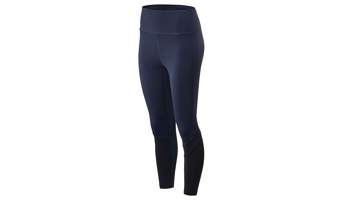 Women's New Balance Transform High Rise Pocket Crop - Color: Eclipse Size: XS, Dark Blue, large, image 1