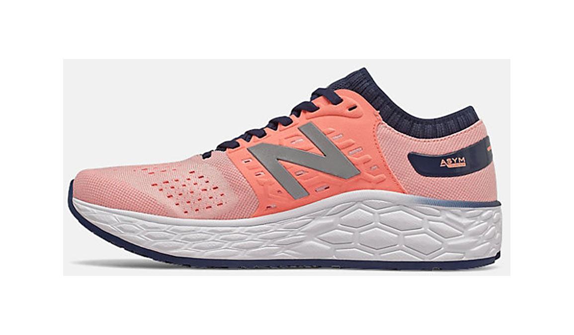 Women's New Balance Vongo V4 Running Shoe - Color: Peach Soda (Regular Width) - Size: 6, Pink, large, image 2