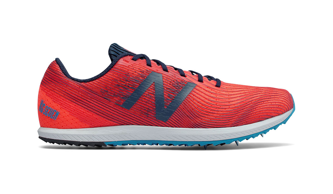 Women's New Balance XC Seven Spike  - Color: Dragonfly/Galaxy (Regular Width) - Size: 8, Red/Blue, large, image 1