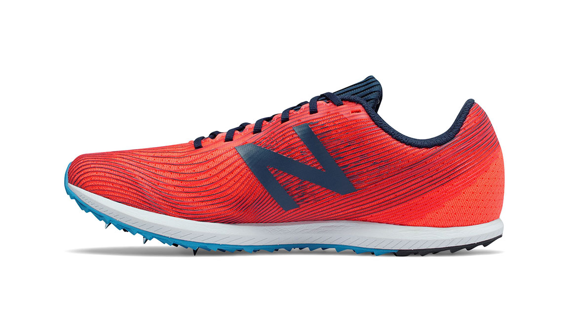 Women's New Balance XC Seven Spike  - Color: Dragonfly/Galaxy (Regular Width) - Size: 8, Red/Blue, large, image 2