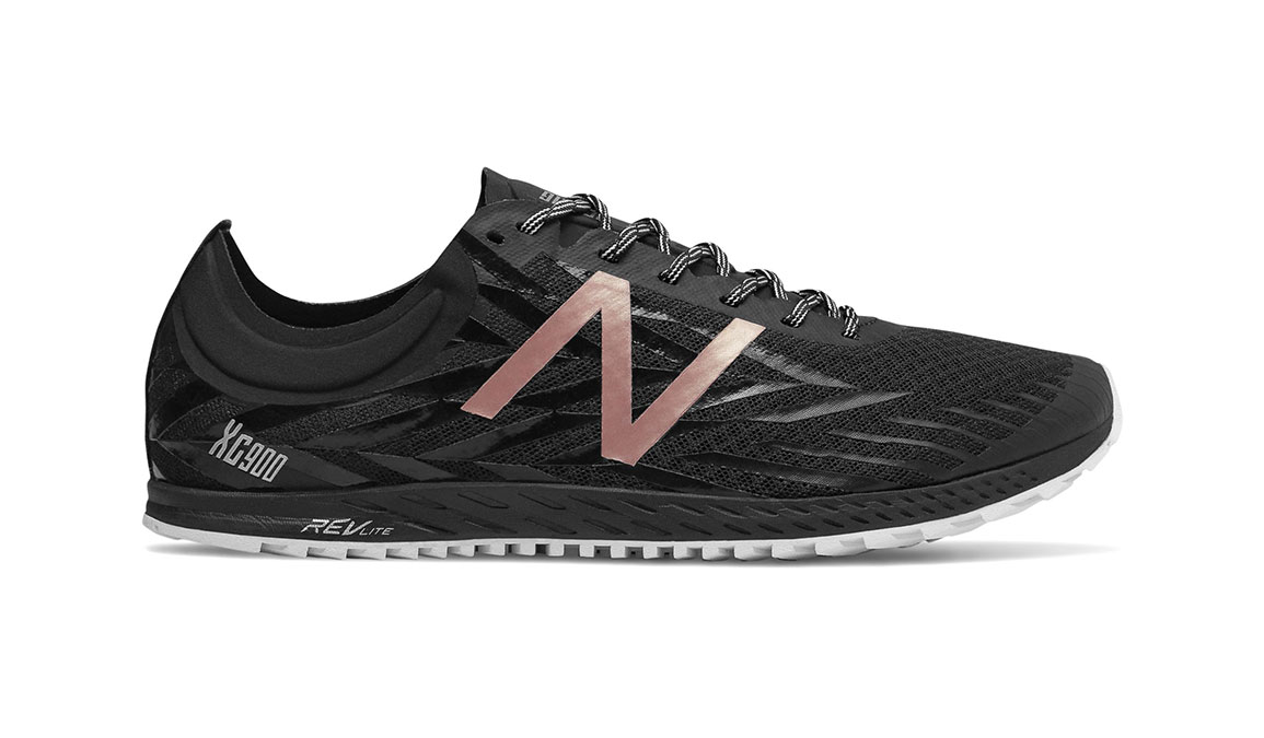 Women's New Balance XC900v4 Removable Spike - Color: Black/Rose Gold (Regular Width) - Size: 9, Black, large, image 1