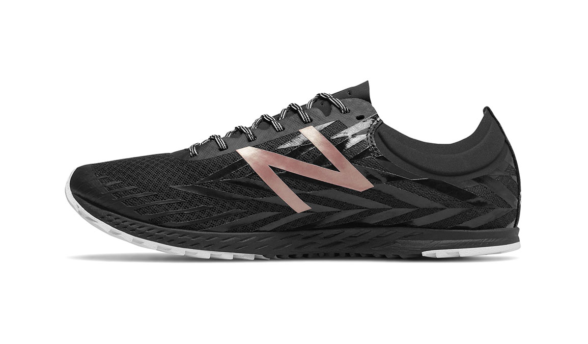 Women's New Balance XC900v4 Removable Spike - Color: Black/Rose Gold (Regular Width) - Size: 9, Black, large, image 2