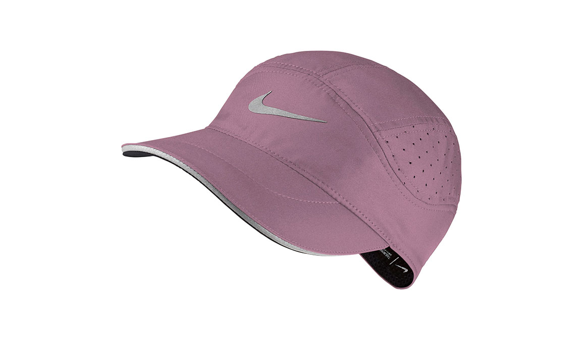 Women's Nike Aerobill Tailwind Elite Cap - Color: Plum Dust/Reflective Silver Size: OS, Plum Dust/Reflective Silver, large, image 1