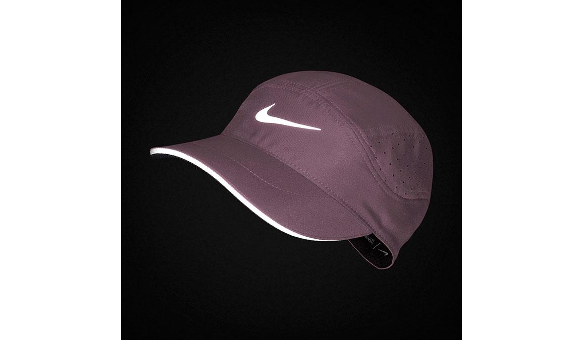 Women's Nike Aerobill Tailwind Elite Cap - Color: Plum Dust/Reflective Silver Size: OS, Plum Dust/Reflective Silver, large, image 2
