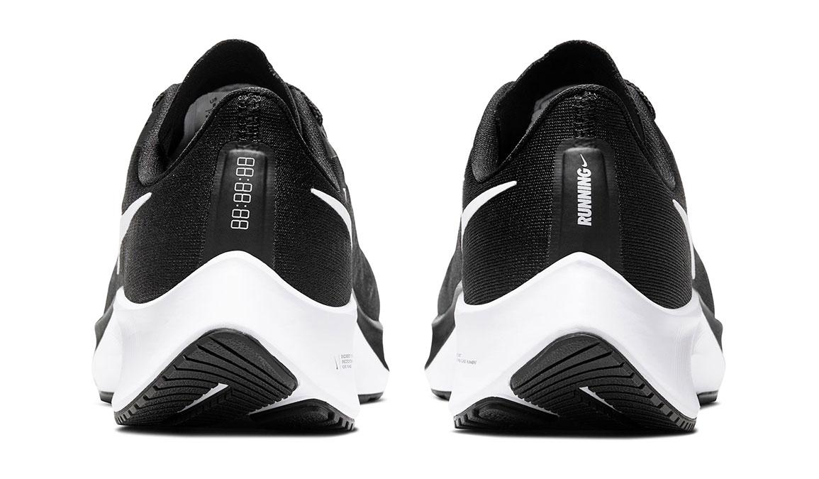 Women's Nike Air Zoom Pegasus 37 Running Shoe - Color: Black/White (Regular Width) - Size: 5.5, Black/White, large, image 4
