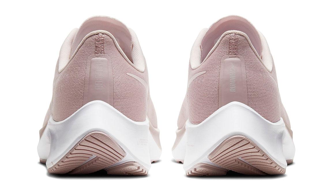 Women's Nike Air Zoom Pegasus 37 Running Shoe - Color: Champagne/Barely Rose-White (Regular Width) - Size: 6, Champagne/Barely Rose/White, large, image 4