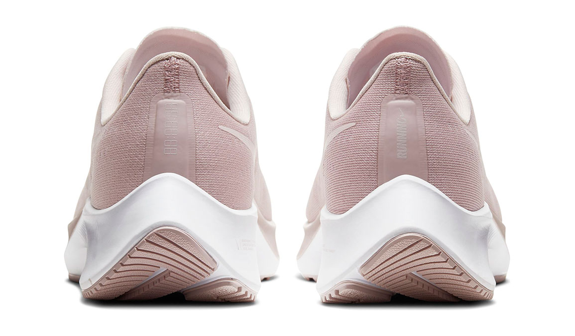 Women's Nike Air Zoom Pegasus 37 Running Shoe - Color: Champagne/Barely Rose-White (Regular Width) - Size: 5.5, Champagne/Barely Rose/White, large, image 4