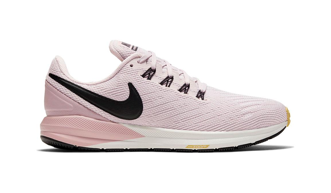 Women's Nike Air Zoom Structure 22 Running Shoe - Color: Platinum Violet/Black (Regular Width) - Size: 11.5, Platinum Violet/Black, large, image 1