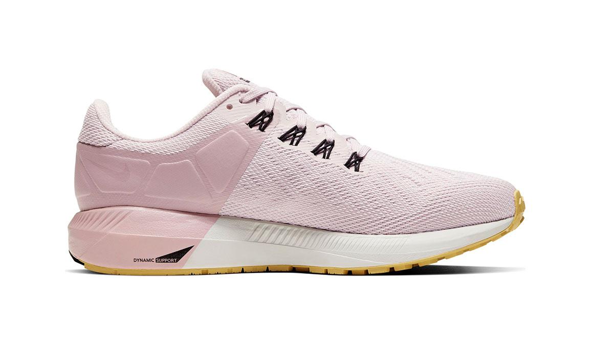 Women's Nike Air Zoom Structure 22 Running Shoe - Color: Platinum Violet/Black (Regular Width) - Size: 11.5, Platinum Violet/Black, large, image 2