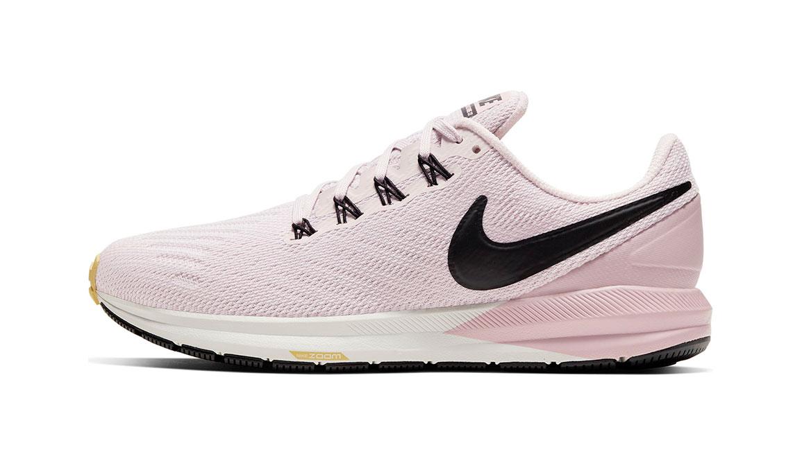 Women's Nike Air Zoom Structure 22 Running Shoe - Color: Platinum Violet/Black (Regular Width) - Size: 11.5, Platinum Violet/Black, large, image 3