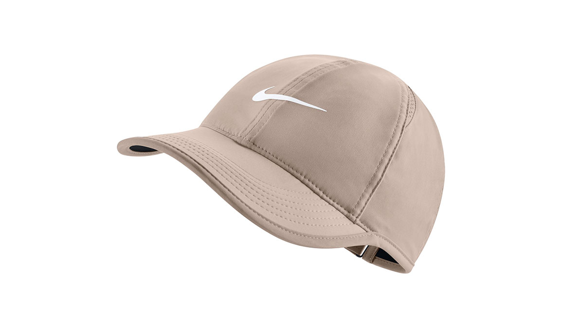 Women's Nike Court AeroBill Featherlight Tennis Cap - Color: Guava Ice/White/Black Size: OS, Guava Ice/White/Black, large, image 1