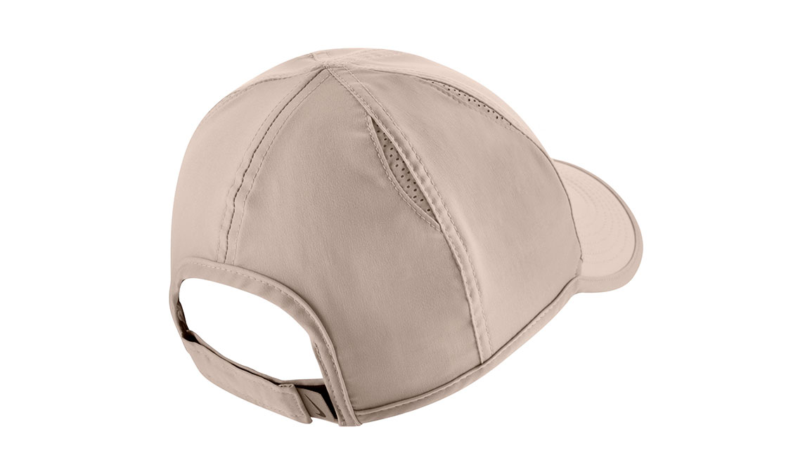 Women's Nike Court AeroBill Featherlight Tennis Cap - Color: Guava Ice/White/Black Size: OS, Guava Ice/White/Black, large, image 2