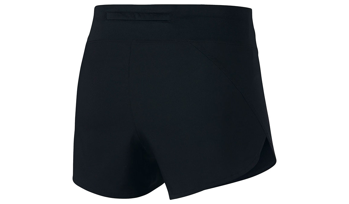 "Women's Nike Eclipse 3"" Running Shorts - Color: Black/Reflective Silver Size: XS, Black/Reflective Silver, large, image 3"