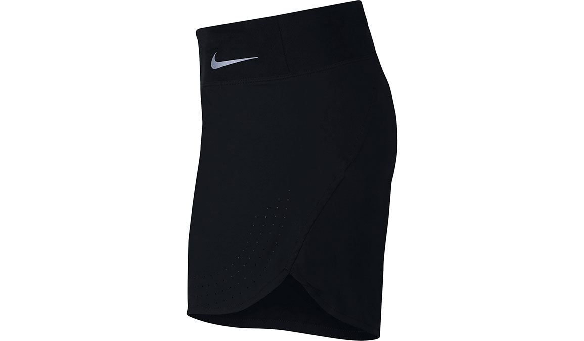 "Women's Nike Eclipse 5"" Running Shorts - Color: Black/Reflective Silver Size: XS, Black/Reflective Silver, large, image 2"