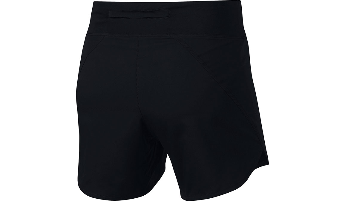 "Women's Nike Eclipse 5"" Running Shorts - Color: Black/Reflective Silver Size: XS, Black/Reflective Silver, large, image 3"
