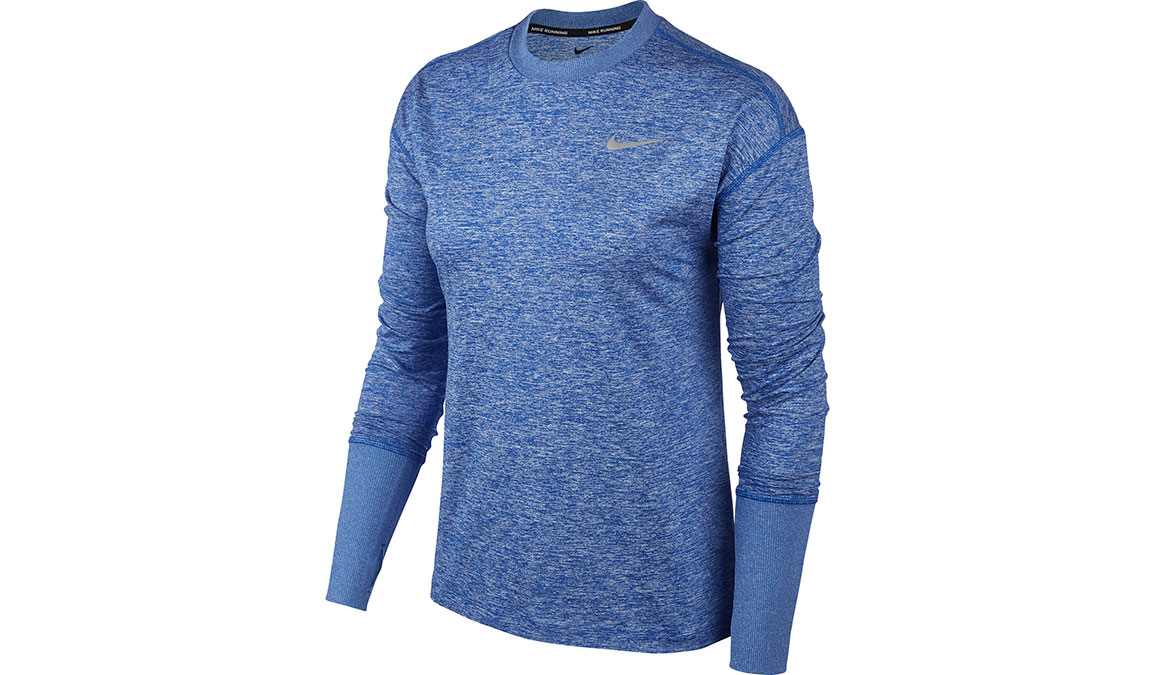 Women's Nike Element Crew Top - Color: Game Royal/Heather Size: XS, Game Royal/Heather, large, image 1