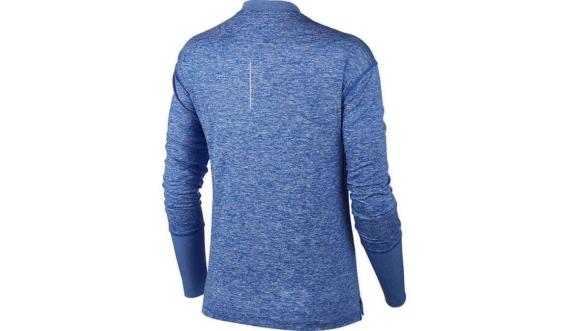 Women's Nike Element Crew Top - Color: Game Royal/Heather Size: XS, Game Royal/Heather, large, image 2