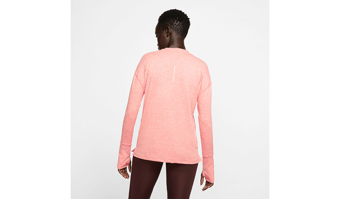 Women's Nike Element Crew Top  - Color: Pink Quartz/Reflective Silver Size: S, Pink Quartz/Reflective Silver, large, image 2