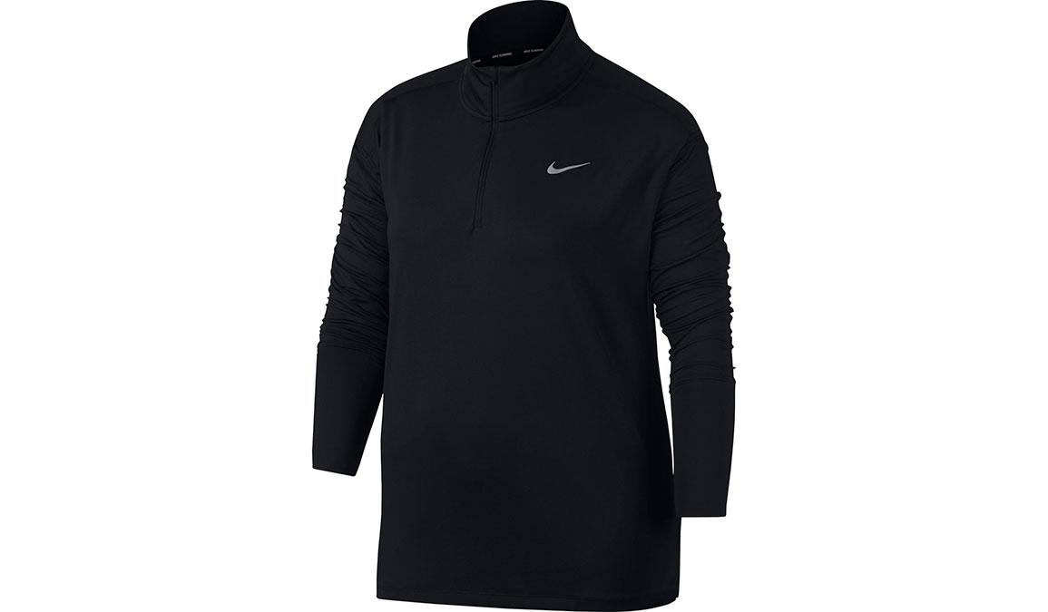 Women's Nike Element Half Zip  - Color: Black Size: XS, Black, large, image 1