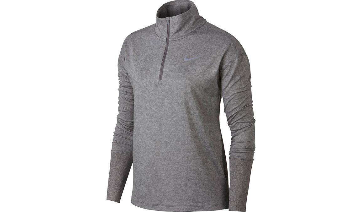 Women's Nike Element Half Zip  - Color: Gunsmoke/Atmosphere Grey Size: XS, Gunsmoke/Atmosphere Grey, large, image 1