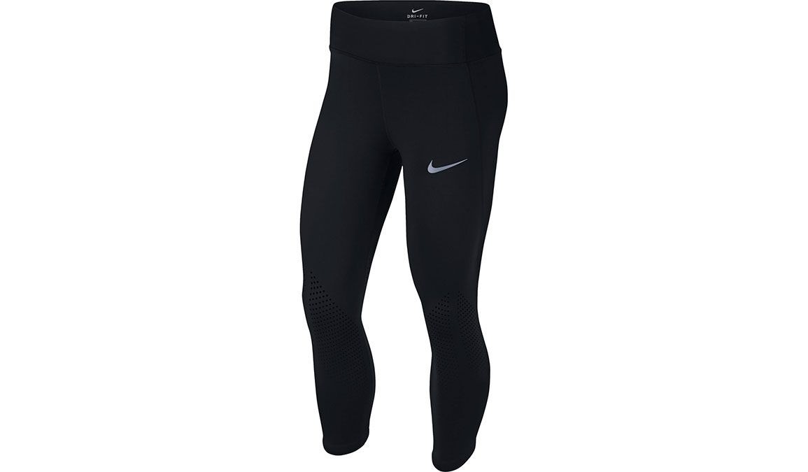Women's Nike Epic Lux Crop - Color: Black/Reflective Silver Size: XS, Black/Reflective Silver, large, image 1