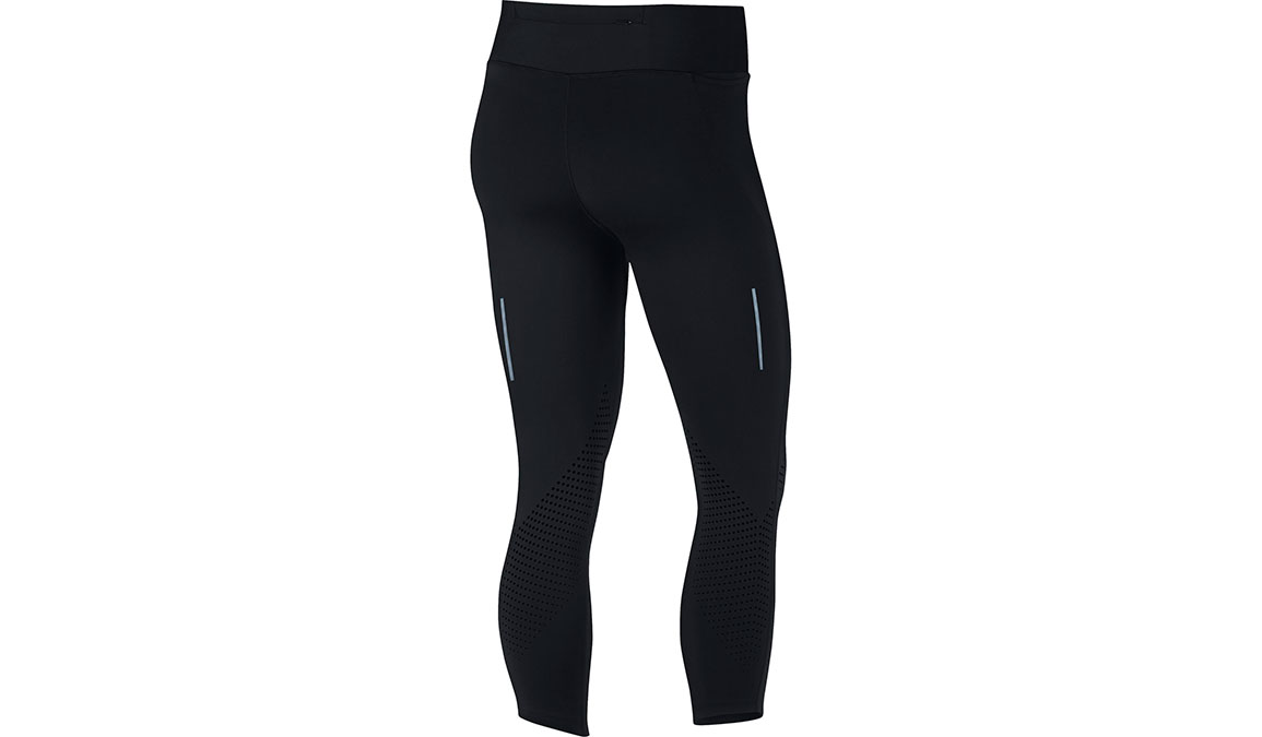 Women's Nike Epic Lux Crop - Color: Black/Reflective Silver Size: XS, Black/Reflective Silver, large, image 2
