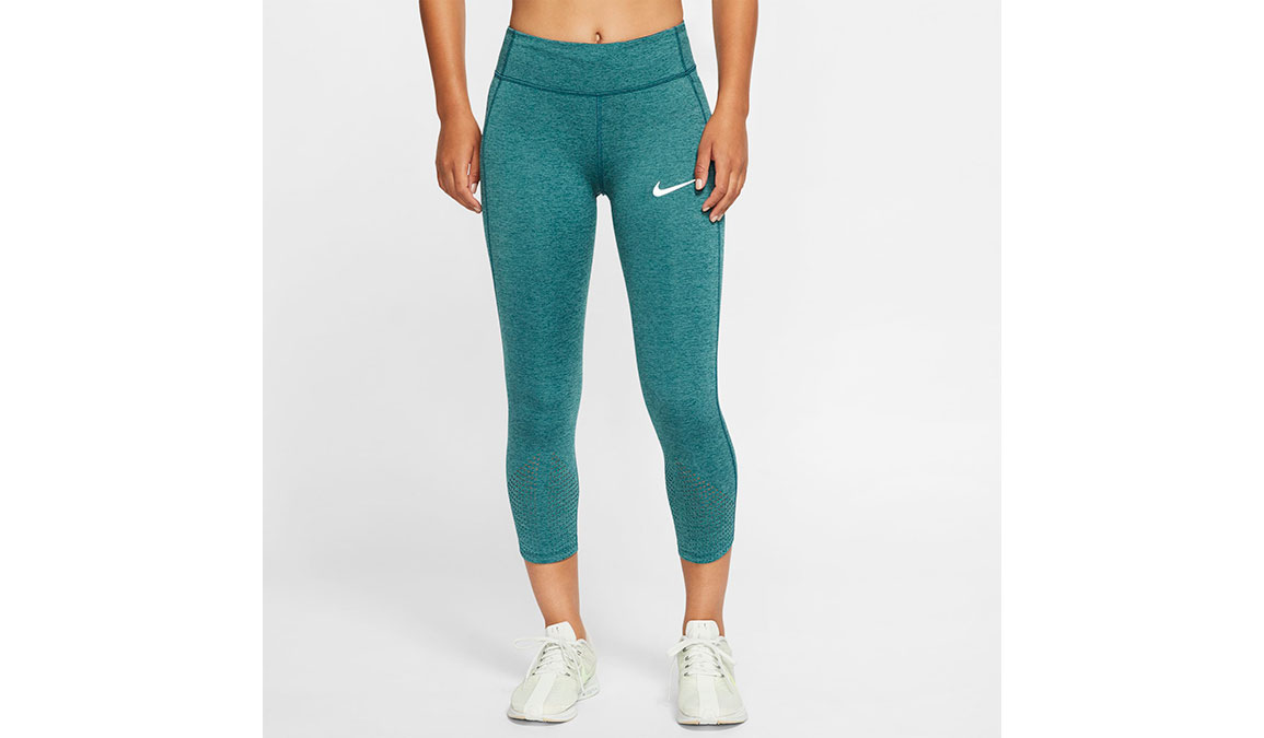 Women's Nike Epic Lux Crop - Color: Midnight/Turqouise Size: XS, Midnight/Turqouise, large, image 1