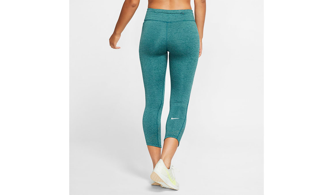 Women's Nike Epic Lux Crop - Color: Midnight/Turqouise Size: XS, Midnight/Turqouise, large, image 2