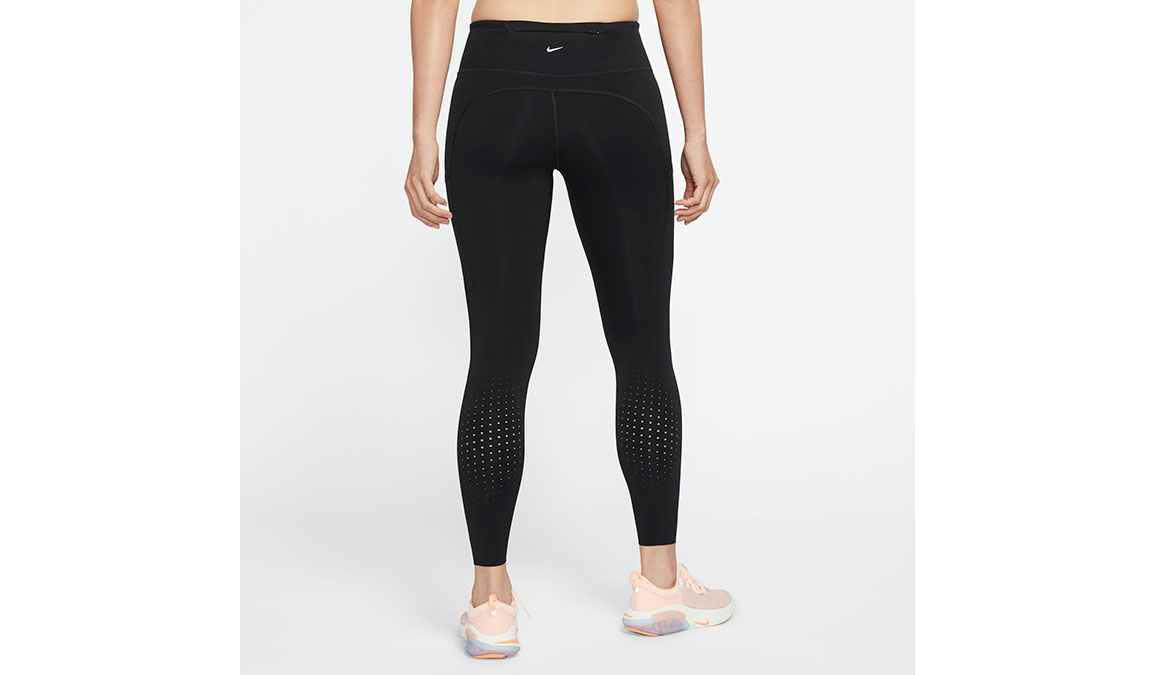 Women's Nike Epic Lux Tights - Color: Black/Reflective Size: XS, Black/Reflective, large, image 2
