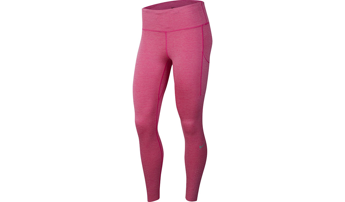 Women's Nike Epic Lux Tights - Color: Fire Pink/Magic Flamingo/Reflective Silver Size: XS, Fire Pink/Magic Flamingo/Reflective Silver, large, image 1