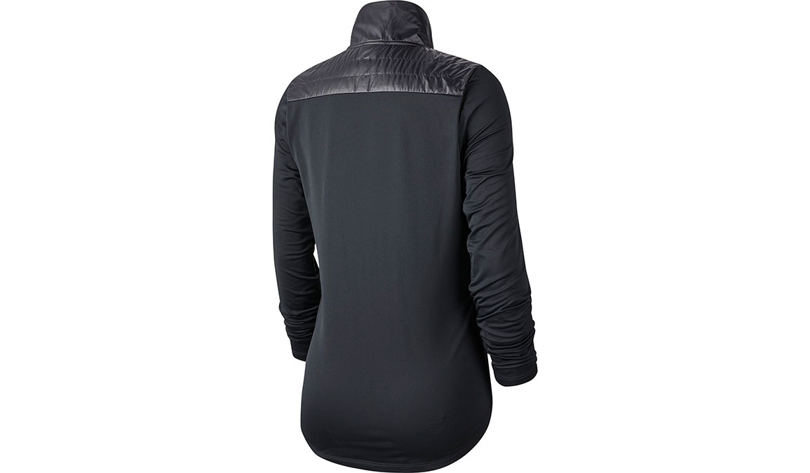 Women's Nike Essential Jacket - Color: Black/Reflective Silver Size: XS, Black/Reflective Silver, large, image 2
