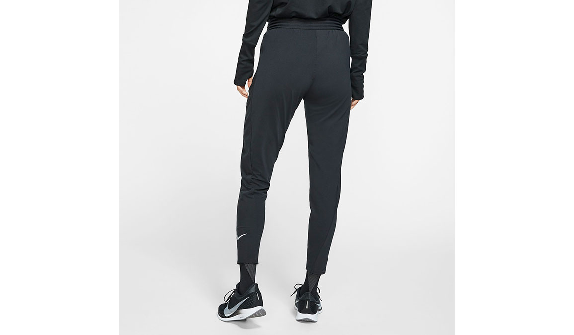 Women's Nike Essential Pants - Color: Black/Reflective Silver Size: M, Black/Reflective Silver, large, image 2