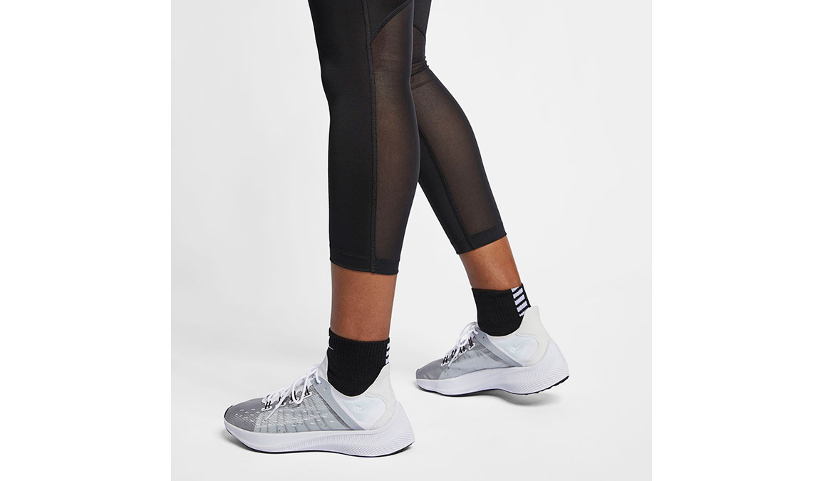 Women's Nike Fast 7/8 Running Crops - Color: Black/Reflective Silver Size: XS, Black/Reflective Silver, large, image 6