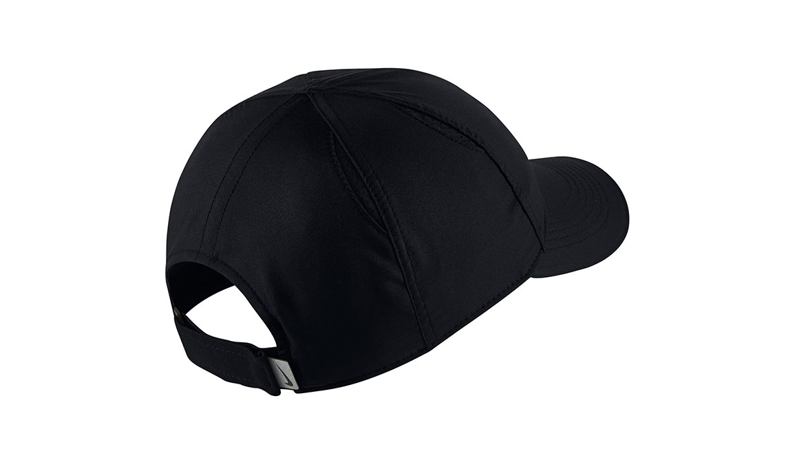 Women's Nike Featherlight Running Cap - Color: Black Size: OS, Black, large, image 2