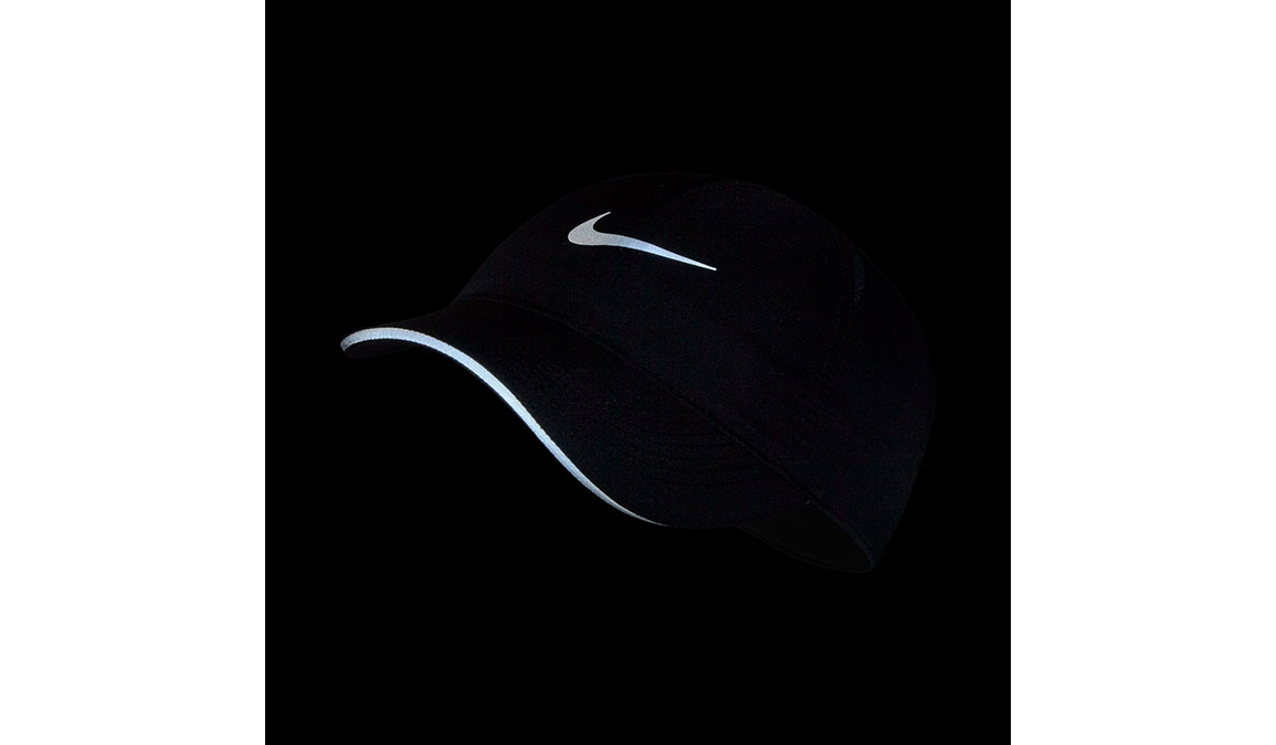 Women's Nike Featherlight Running Cap - Color: Black Size: OS, Black, large, image 3