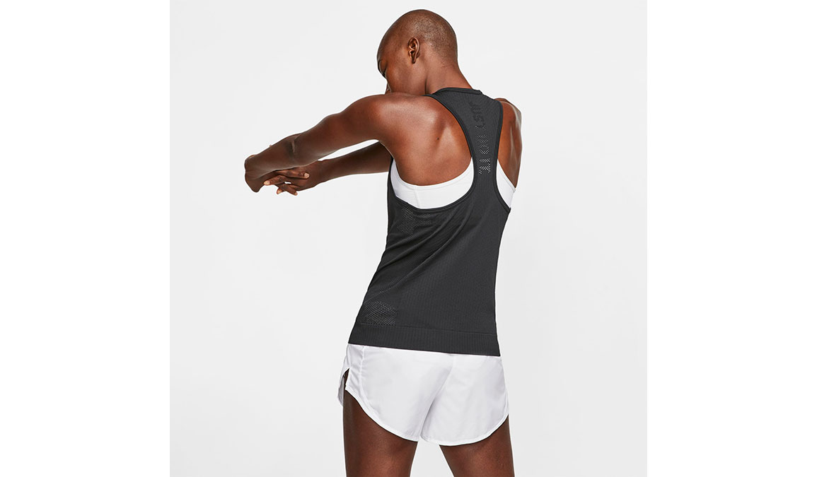 Women's Nike Infinite Tank - Color: Black/Reflective Silver Size: XS, Black/Reflective Silver, large, image 2