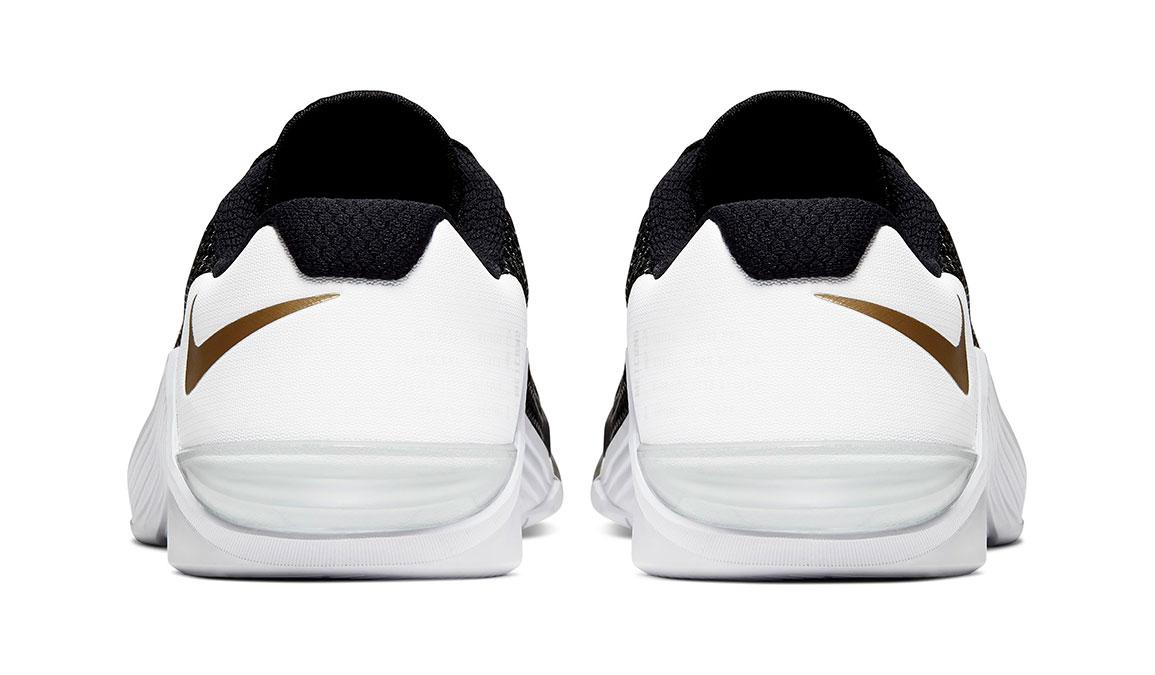 Women's Nike Metcon 5 Training Shoes - Color: Black/Metallic Gold (Regular Width) - Size: 6.5, Black/Metallic Gold, large, image 7