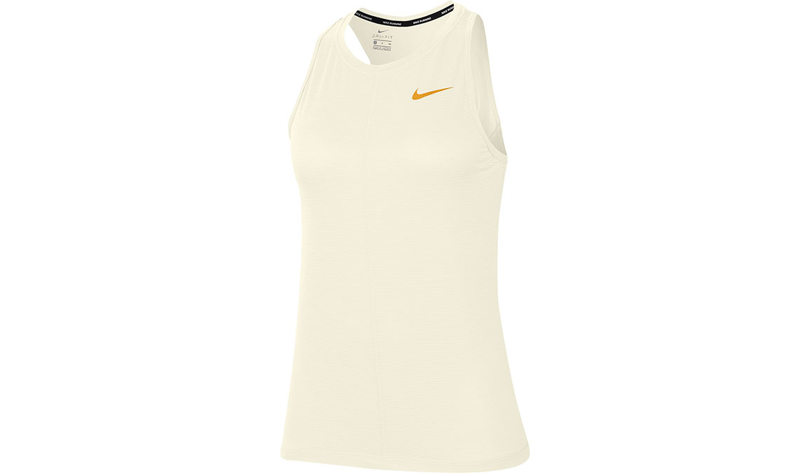 Women's Nike Miler Tank - Color: Sail/Gold Size: XS, Sail/Gold, large, image 1