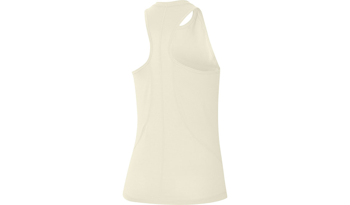 Women's Nike Miler Tank - Color: Sail/Gold Size: XS, Sail/Gold, large, image 2