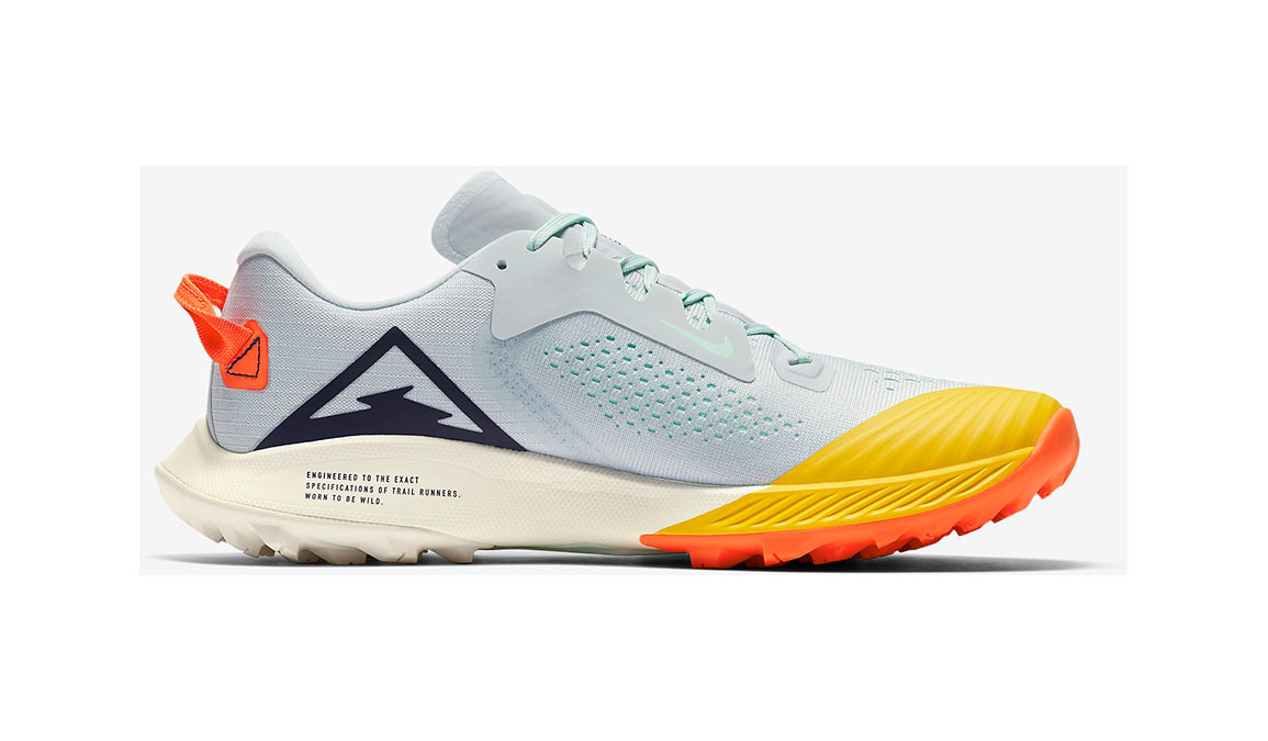 Women's Nike Air Zoom Terra Kiger 6 Trail Running Shoe - Color: Aura/Mint Foam/Speed Yellow/Blackened Blue (Regular Width) - Size: 5, Aura/Mint Foam/Speed Yellow/Blackened Blue, large, image 1