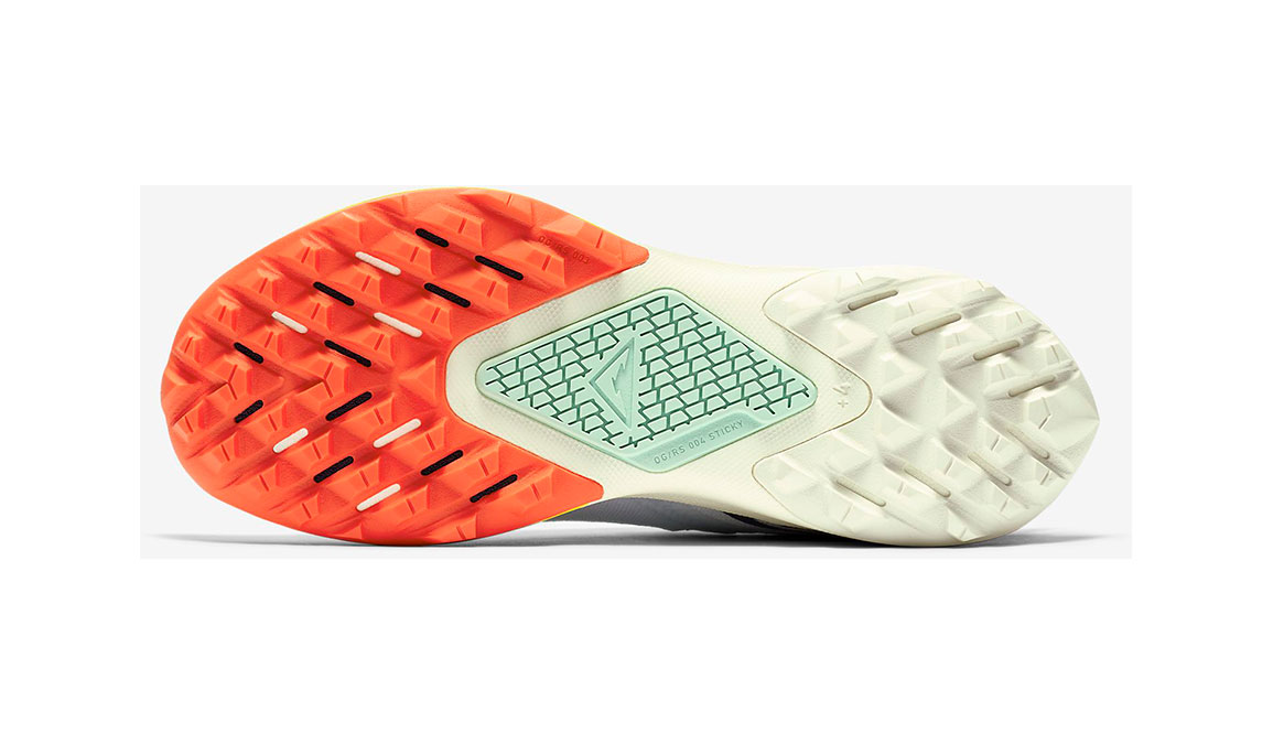 Women's Nike Air Zoom Terra Kiger 6 Trail Running Shoe - Color: Aura/Mint Foam/Speed Yellow/Blackened Blue (Regular Width) - Size: 5, Aura/Mint Foam/Speed Yellow/Blackened Blue, large, image 3
