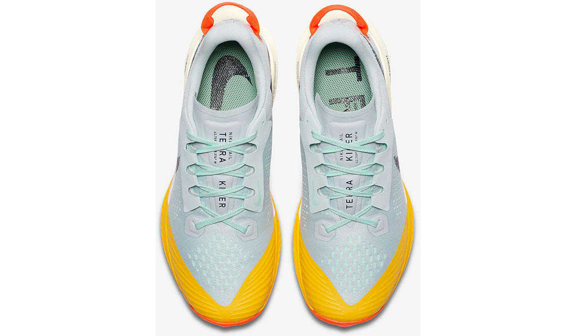 Women's Nike Air Zoom Terra Kiger 6 Trail Running Shoe - Color: Aura/Mint Foam/Speed Yellow/Blackened Blue (Regular Width) - Size: 5, Aura/Mint Foam/Speed Yellow/Blackened Blue, large, image 4