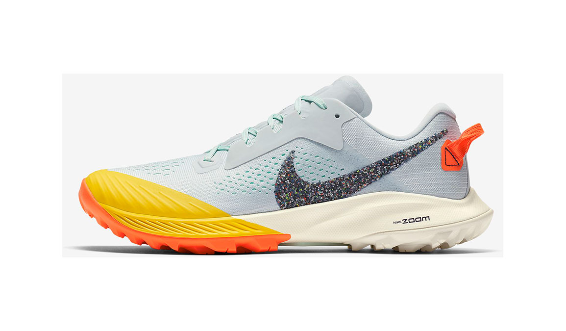 Women's Nike Air Zoom Terra Kiger 6 Trail Running Shoe - Color: Aura/Mint Foam/Speed Yellow/Blackened Blue (Regular Width) - Size: 5, Aura/Mint Foam/Speed Yellow/Blackened Blue, large, image 2