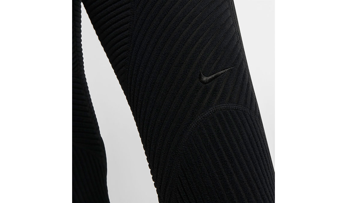 Women's Nike Pro HyperWarm Tights - Color: Black/Black Size: XS, Black, large, image 4